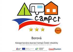 Camping BOROVÁ