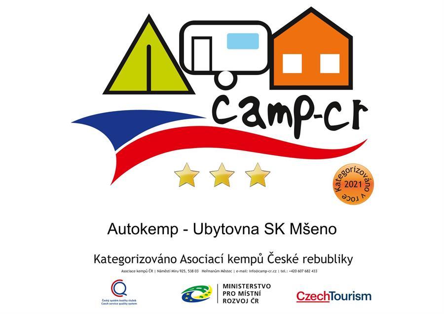 Autokemp - Ubytovna SK Mšeno