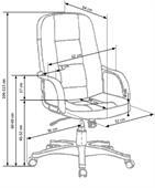 Kancelářská židle Expert - černá