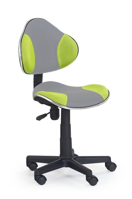 Dětská židle Flip 2 - šedo - zelená