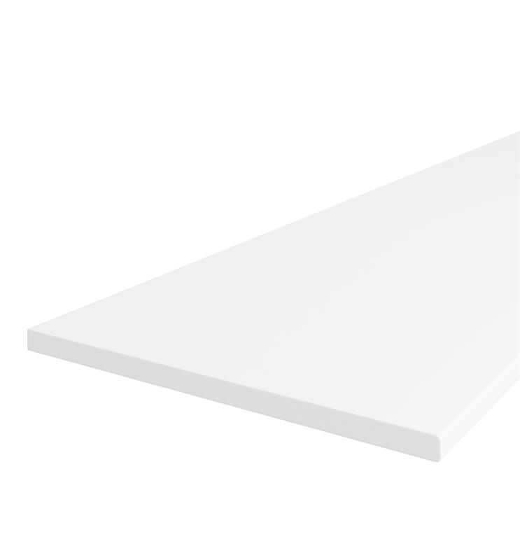 Pracovní deska bílá D0101