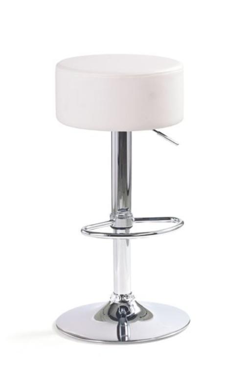 Barová židle Mili - bílá