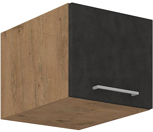 Horní skříňka Viktorie grafit mat 23 (40 cm)