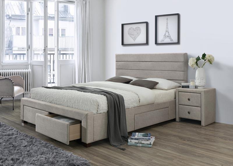 Čalouněná postel Kayleon 160 x 200 cm