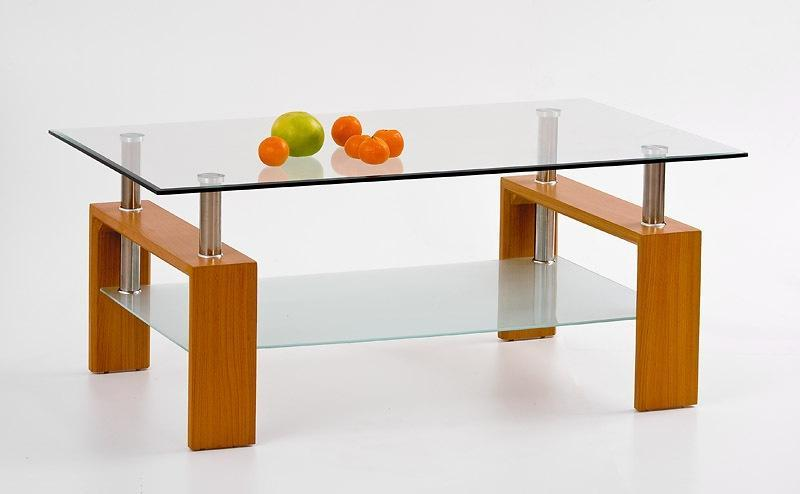 Konferenční stolek skleněný