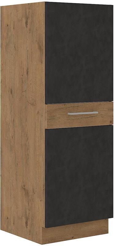 Skříňka Viktorie grafit mat 45 (50 cm) bez pracovní desky