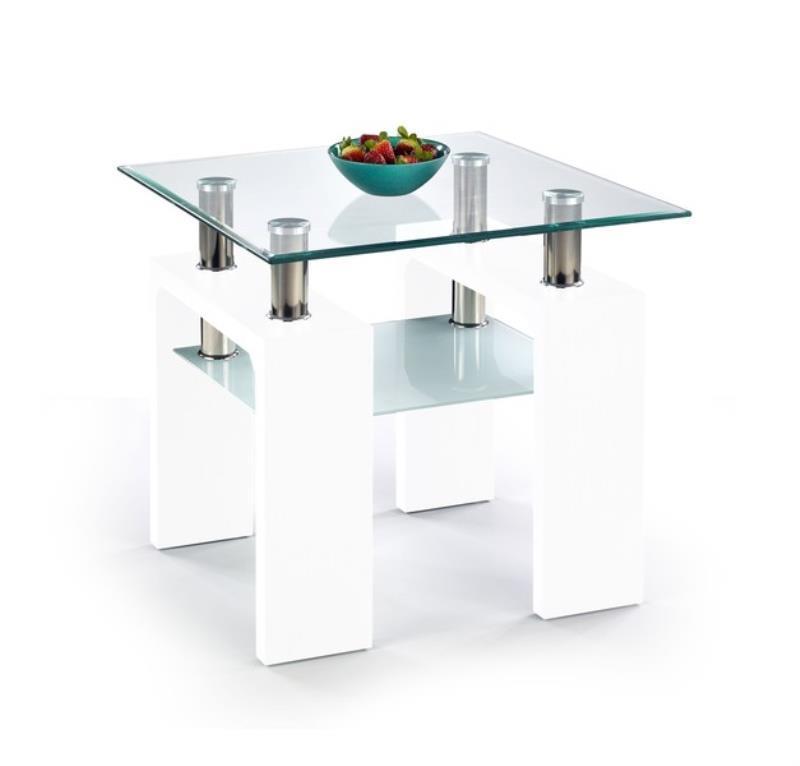 Konferenční stolek Diana K bílá