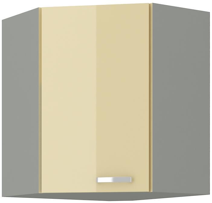 Horní rohová skříňka Carmen 14 (58/58 cm)