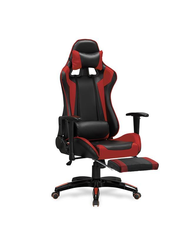 Kancelářská židle Defender 2 černo-červená