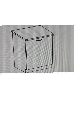 Dolní skříňka Barbora 3 s pracovní deskou (60 cm)