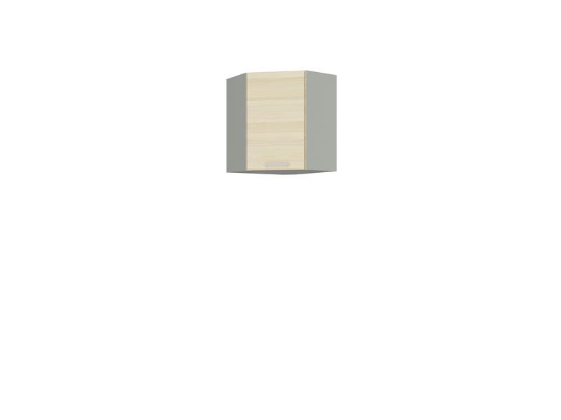 Horní rohová skříňka Erika 15 (58 x 58 cm)