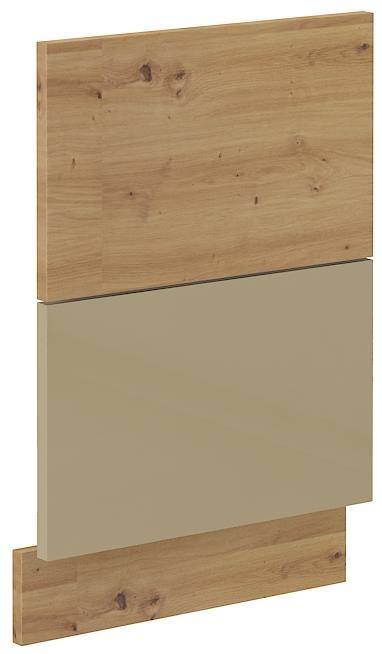 Dvířka na myčku Arisa 35 (570 x 446 mm) cappucino lesk