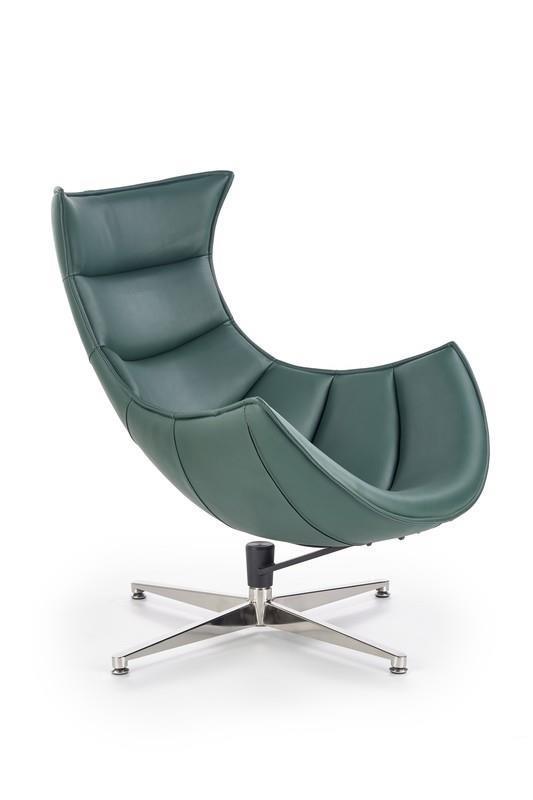 Odpočinkové křeslo Luxa - zelené
