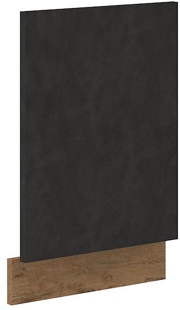 Dvířka na myčku Viktorie grafit mat 34 - ZM 570 x 446