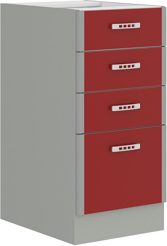 Dolní skříňka Eva 4 bez pracovní desky (40 cm)