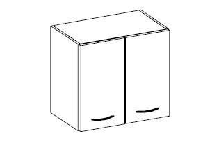 Horní skříňka Daniela 9 (60 cm)