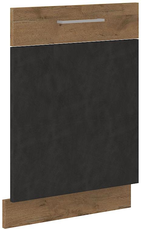 Dvířka na myčku Viktorie grafit mat 31 - ZM 713 x 596