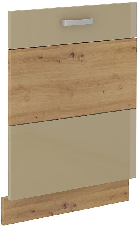 Dvířka na myčku Arisa 32 (713 x 596 mm) cappucino lesk