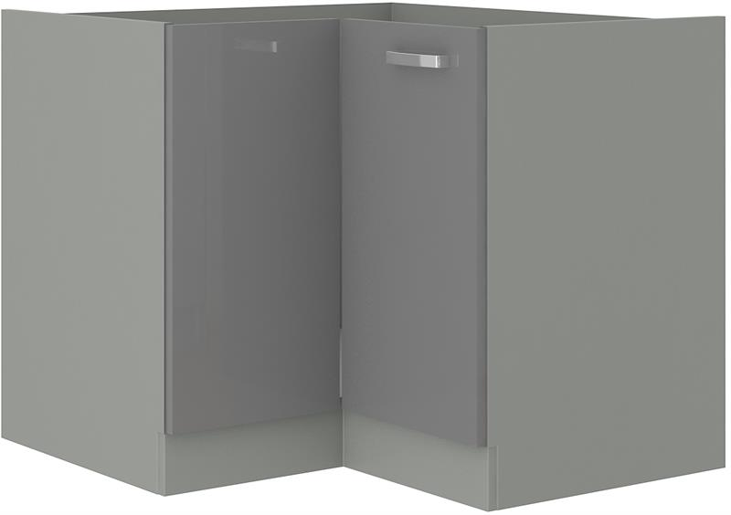 Dolní skříňka rohová Gary 6 bez pracovní desky (89x89 cm)