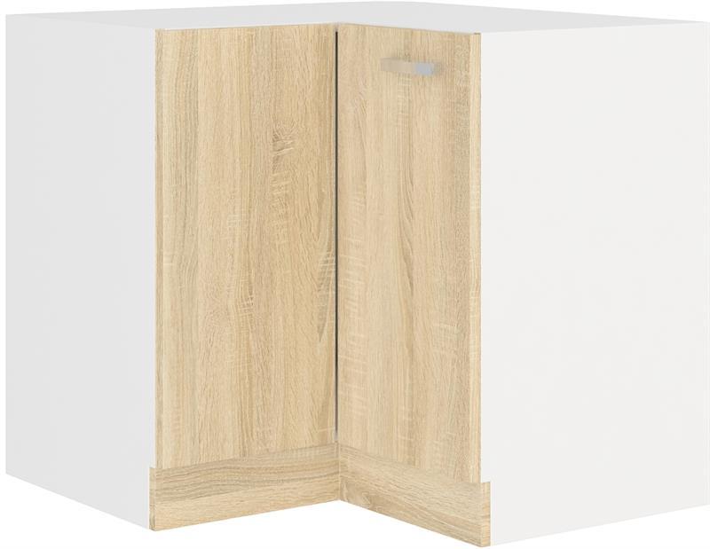Dolní skříňka rohová Klára 6 (89 x 89 cm) bez pracovní desky