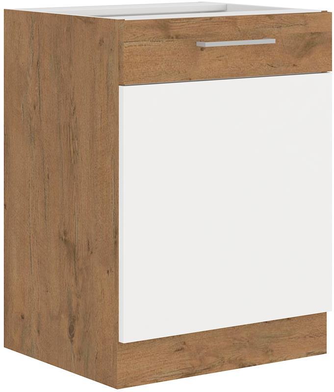 Dolní skříňka Viktorie 4 bez pracovní desky (60 cm)