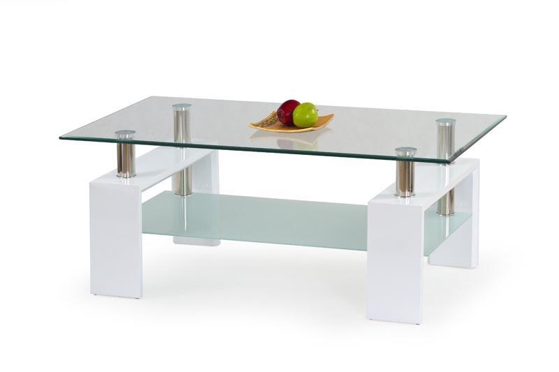 Konferenční stolek Diana H - bílý