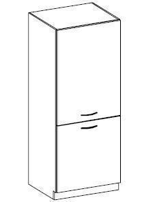 Potravinová skříň Barbora 12 (60 cm)