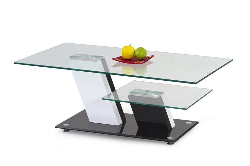 Skleněný konferenční stolek Savana