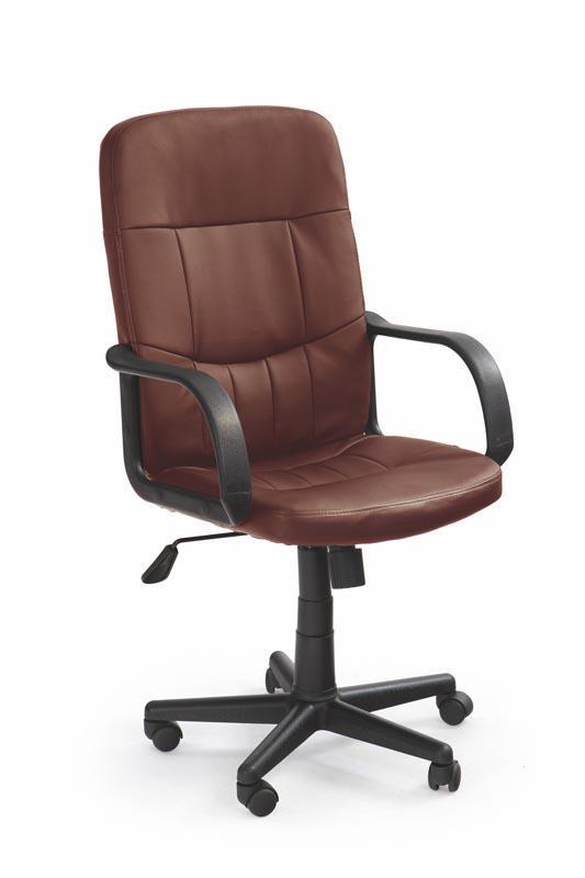 Kancelářská židle Denzel - tmavě hnědá