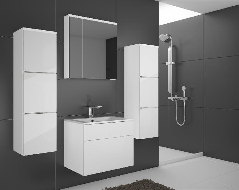 Koupelnový nábytek Porto - bílý lesk Skladem