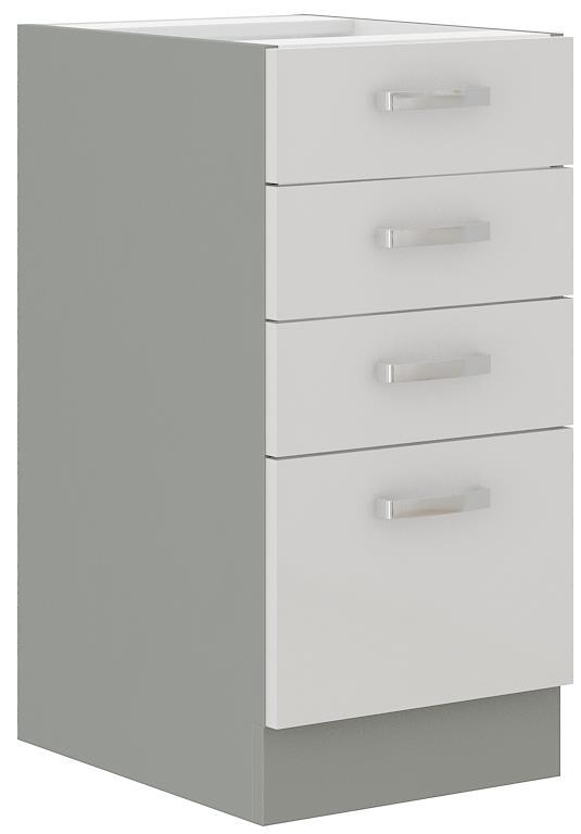 Dolní skříňka Blanka 4 bez pracovní desky (40 cm)