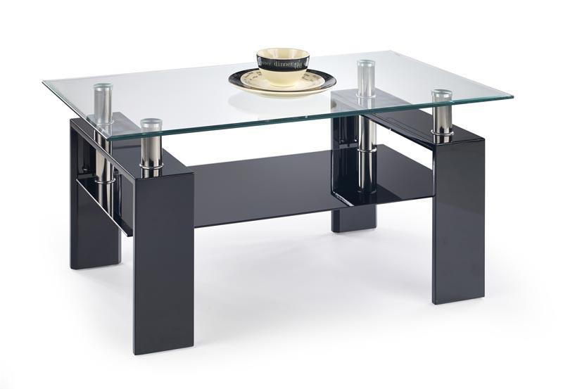 Konferenční stolek Diana H - černý