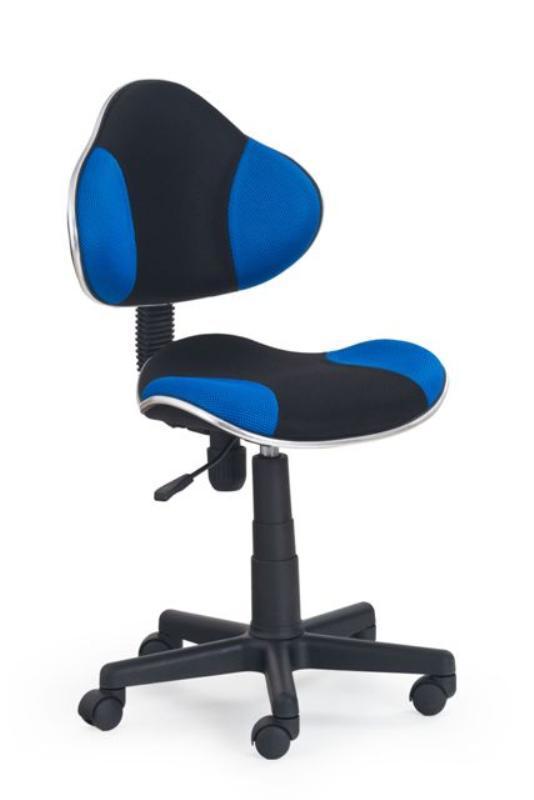 Dětská židle Flip - černo - modrá