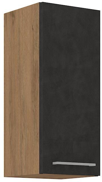 Horní skříňka Viktorie grafit mat 24 (30 cm)