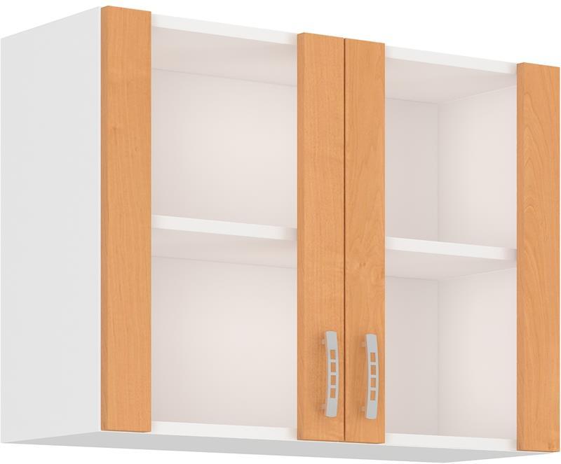 Horní skříňka Sára 5 ( 80 cm ) prosklená