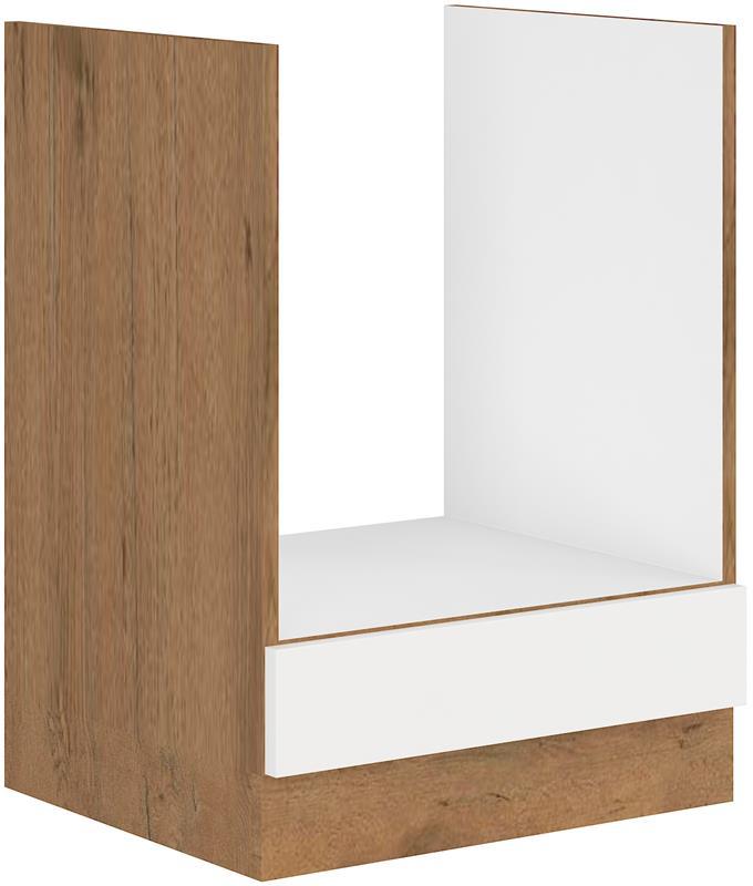 Dolní skříňka pro troubu Viktorie 11 bez pracovní desky (60 cm)