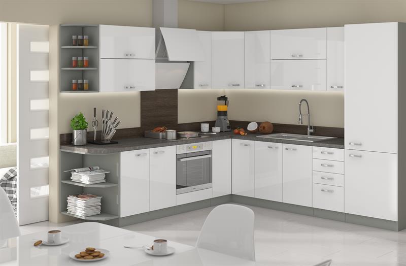 Kuchyňská linka Blanka (volitelná sestava)