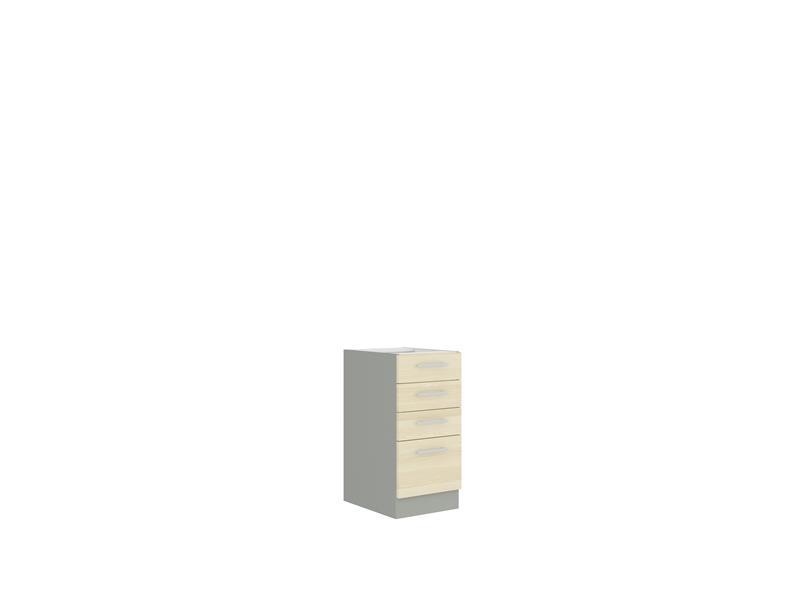 Dolní skříňka Erika 4 bez pracovní desky (40 cm)