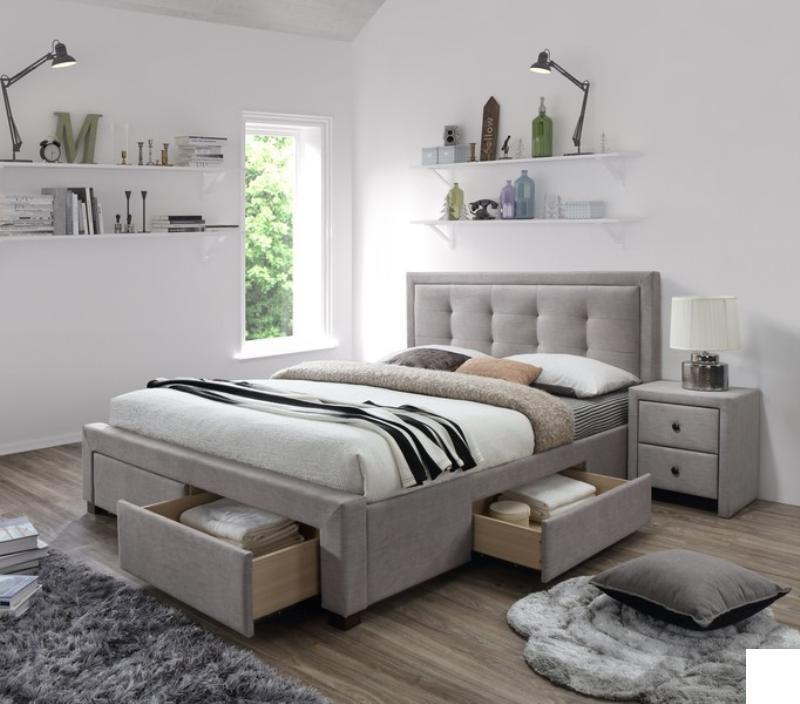 Čalouněná postel Evora 160 x 200 cm
