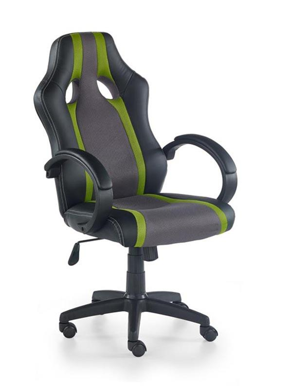 Kancelářská židle Radix šedo-zelená
