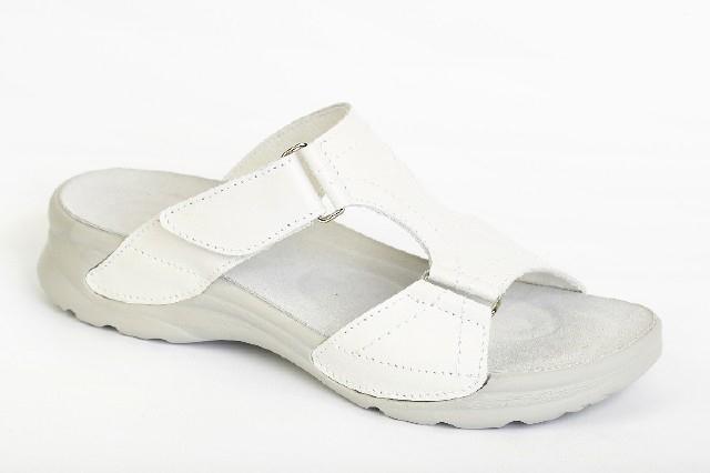 Pracovní pantofle bílé Zita 8ad3738788