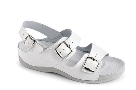 Pracovní sandály Ema. Sandály Ema bílé 69ef8b4d4b