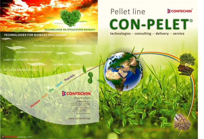 CONTECHIN - CON-PELET pellet line