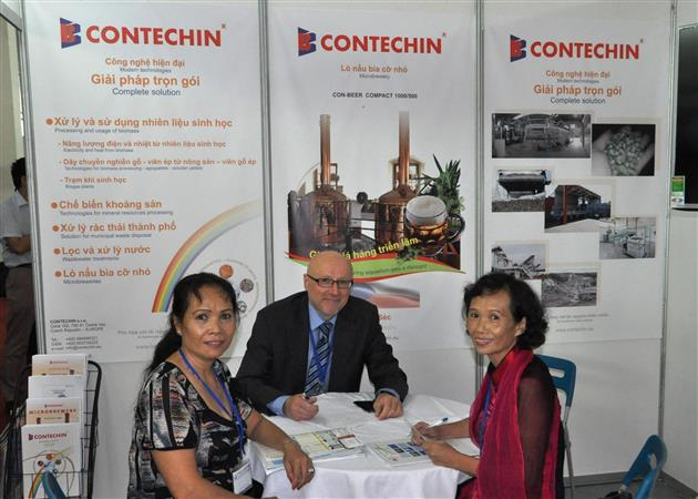 CONTECHIN - Hanoj účast na výstavě 2015