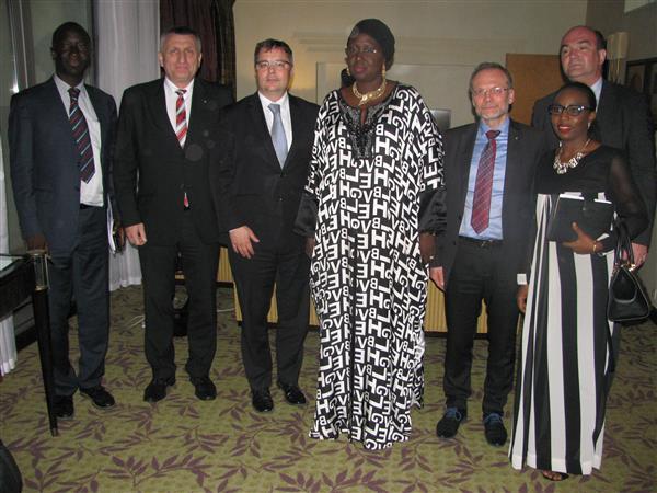 Senegal - jednání s podnikateli