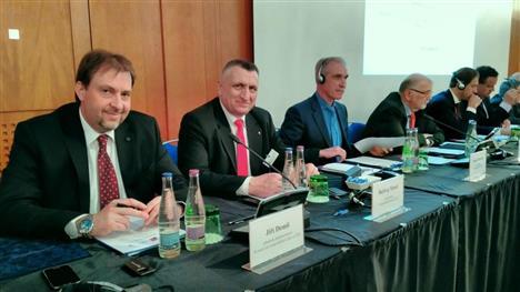 Minář - Demiš - Morozov - zasedání česko ruské mezivládní komise v Praze