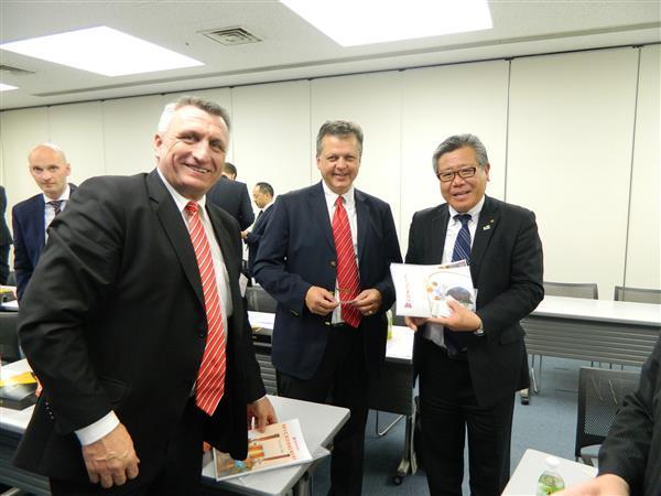 Přijetí podnikatelské delegace primátorem města Sakai 4