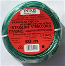 Vysokopevnostní šňůra na prádlo s ocelovým lankem INTRISLINE STANDARD