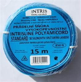 Vysokopevnostní prádelní šňůra se silonovým lankem INTRISLINE POLYAMICORD STANDARD