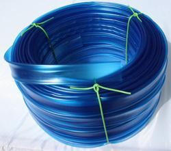 Bužírka průhledná modře tónovná 4,0 x 0,5 mm, hladká, 85 ShA ...